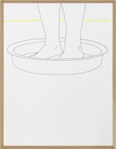 jeux de jambes jaune