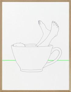 jeux de jambes vert