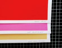 couleurs/mémoire, monochromes.
